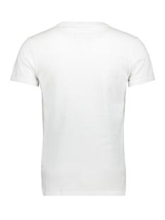 vintage logo entry tee m10007sr superdry t-shirt optic