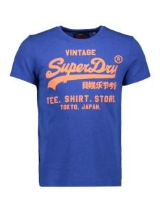 Superdry T-shirt SHIRT SHOP TEE M10020TR PORTLAND COBALT GRIT