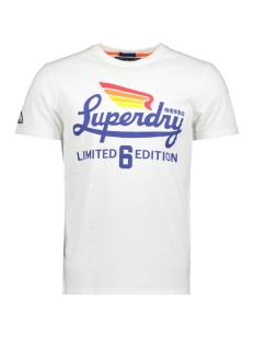 Superdry T-shirt LIMITED ICARUS TEE M10010TR OPTIC
