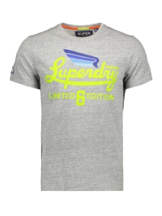 Superdry T-shirt LIMITED ICARUS TEE M10010TR GREY BIRDSEYE
