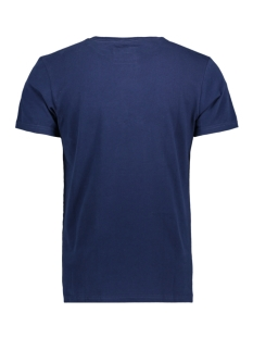 vintage logo entry tee m10007sr superdry t-shirt tin tab navy