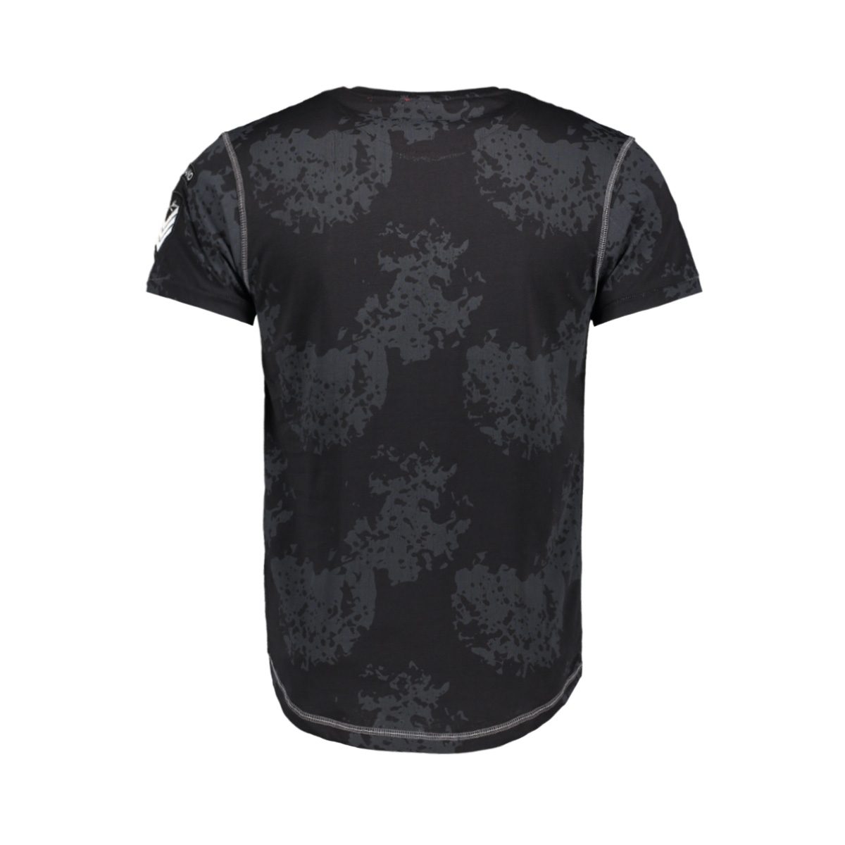 t shirt 13829 gabbiano t-shirt black