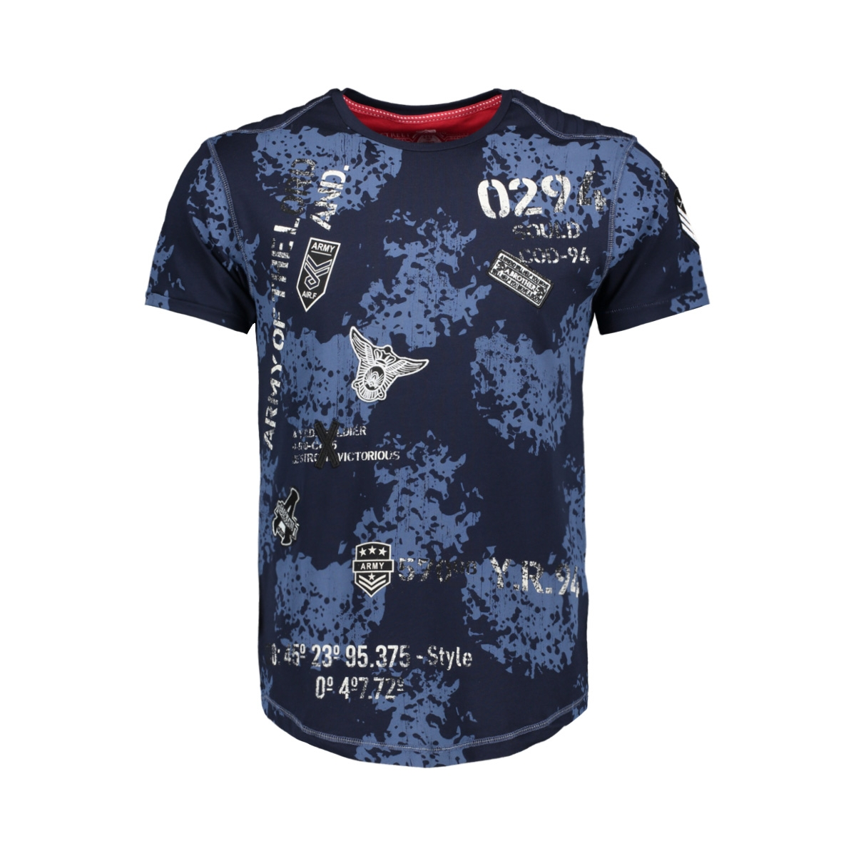 t shirt 13829 gabbiano t-shirt navy
