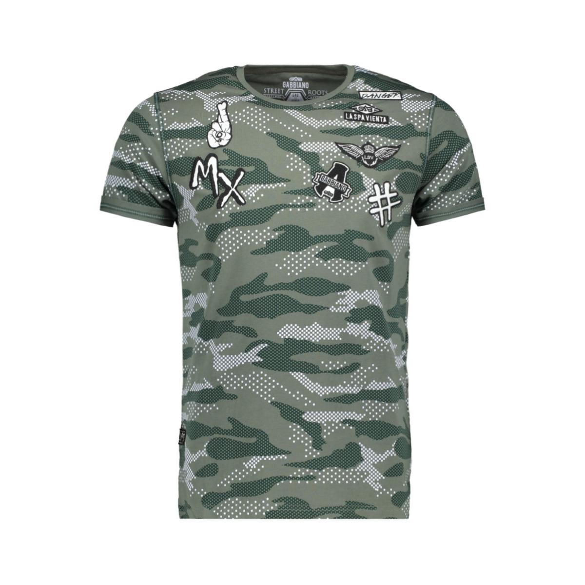 t shirt 13821 gabbiano t-shirt army