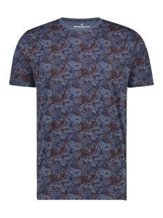 Haze & Finn T-shirt TEE SUBLIMATION PRINT MU12 0002 BLUE JUNGLE