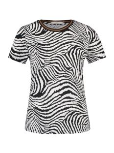 alicia zebra pes 316 aaiko t-shirt black