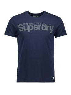 Superdry T-shirt RETRO SPORT TONAL TEE M1000030A NAVY