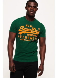 Superdry T-shirt VINTAGE AUTHENTIC FLURO TEE M1000056B GREEN