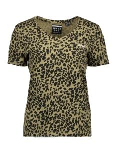 Superdry T-shirt OL ESSENTIAL VEE TEE W6000018A KHAKI ANIMAL