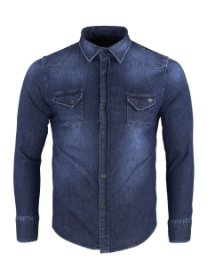 Gabbiano Overhemd SHIRT 33803 DENIM BLUE