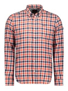 N.Z.A. Overhemd CAMELOT 19HN561 636 NZA FLAME ORANGE