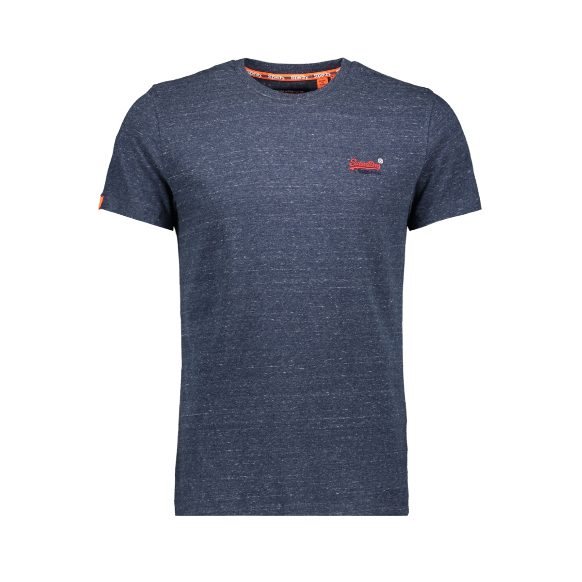 ol vintage embroidery m1000020a superdry t-shirt creek navy heather