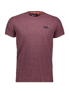 Superdry T-shirt VINTAGE EMBROIDERY M1000020A CREEK RED MARL FEEDER