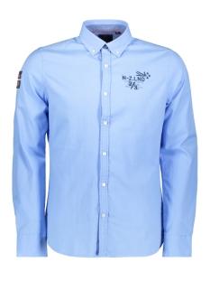 N.Z.A. Overhemd WAIHUKA 19HN550 343 Royal Blue