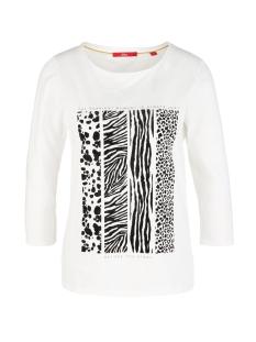 s.Oliver T-shirt T SHIRT MET FLOCKPRINT 21909395892 02D0