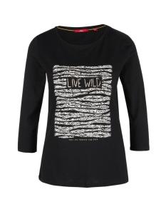 s.Oliver T-shirt T SHIRT MET FLOCKPRINT 21909395892 99D1