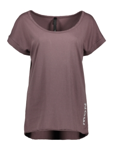 10 Days T-shirt TEE LEOPARD 20 751 8103 DIRTY WINE