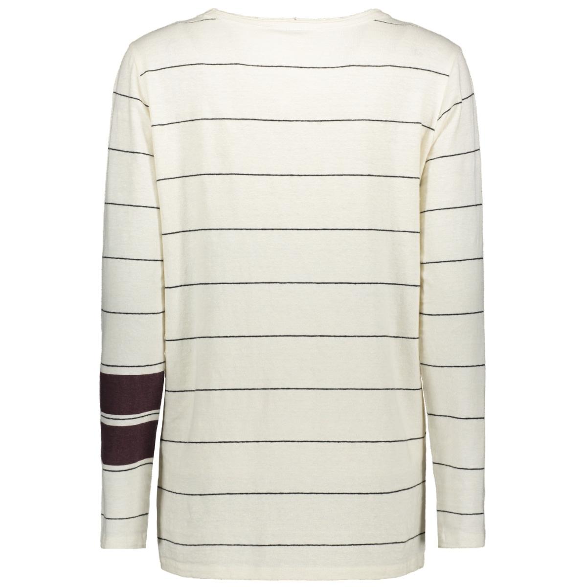 longsleeve tee thin 20 782 8103 10 days t-shirt white/black