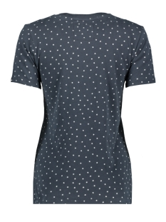 shimmer entry tee w1000016b superdry t-shirt eclipse navy