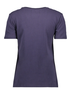 outline entry tee w1000037a superdry t-shirt rinse navy