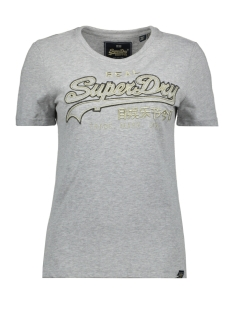 Superdry T-shirt OUTLINE ENTRY TEE W1000037A GREY MARL