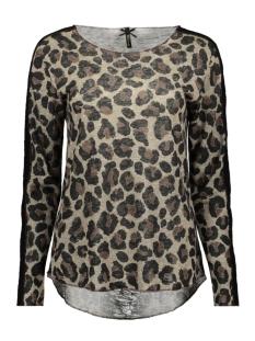 Key Largo T-shirt KEVINA ROUND WLS00182 1005 SAND