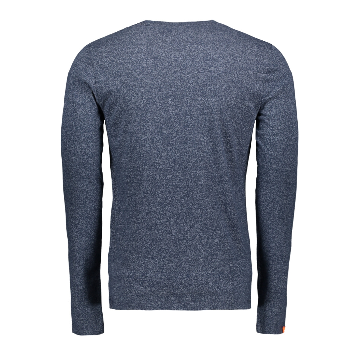 embroidery ls tee m60103et superdry t-shirt classic blue feeder
