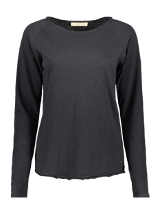 Smith & Soul T-shirt BASIC SWEAT 1019 1013 099 ZWART