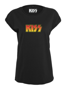 Urban Classics T-shirt LADIES KISS TEE MC260 BLACK