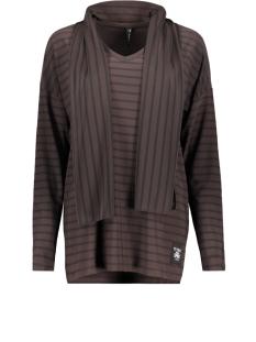 Zoso T-shirt PERRY SPLENDOUR FABRIC SHIRT BROWN/BLACK
