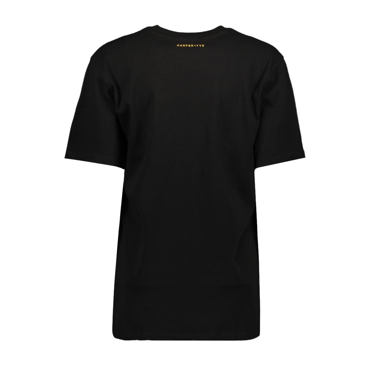 fw19k302 harper ss harper & yve t-shirt black