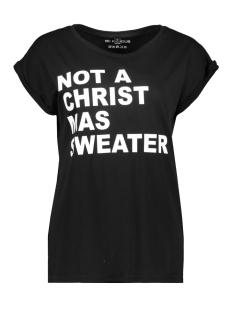 Be Famous T-shirt BFW01-NOCHRITS BLACK/WHITE