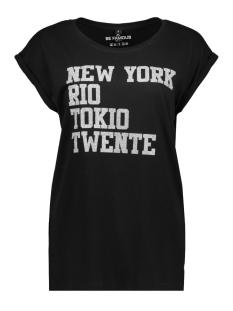 Be Famous T-shirt BFW0 NRT TWENTE SILVER GLITTER
