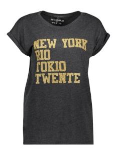 Be Famous T-shirt BFW01 NRT TWENTE GOLD GLITTER