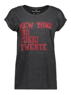 Be Famous T-shirt BFW01 NRT TWENTE RED GLITTER