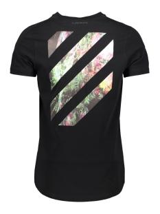 logo tape t shirt 20010106 purewhite t-shirt 02 black