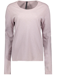 10 Days T-shirt LONGSLEEVE TEE SLUB 20 783 0201 ZINC