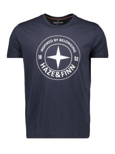 tee logo circle me 0018 haze & finn t-shirt navy
