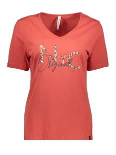 original t shirt with print 201 zoso t-shirt 0072 desert red