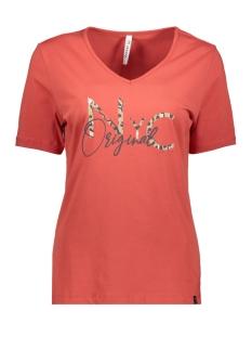 Zoso T-shirt ORIGINAL T SHIRT WITH PRINT 201 0072 DESERT RED