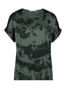 Aaiko T-shirt MERLE TIEDYE VIS 616 STEEL GREEN