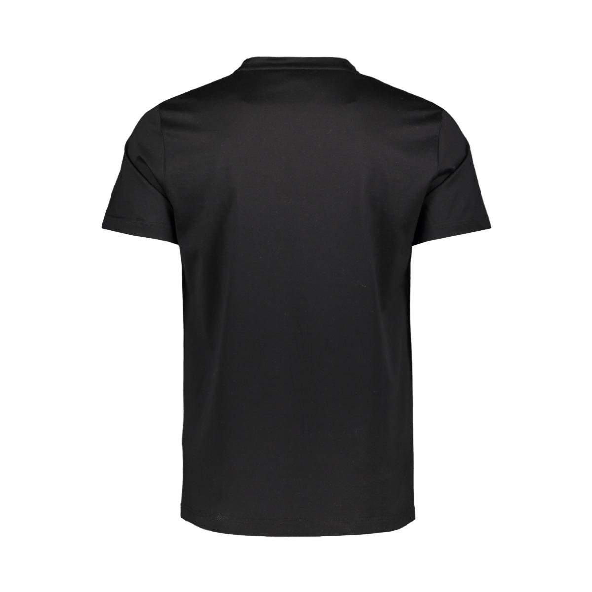 t shirt round collar mmks01818 antony morato t-shirt 9000 black