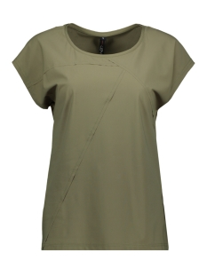 NED T-shirt TOMA SS TRAVELER 211 ARMY