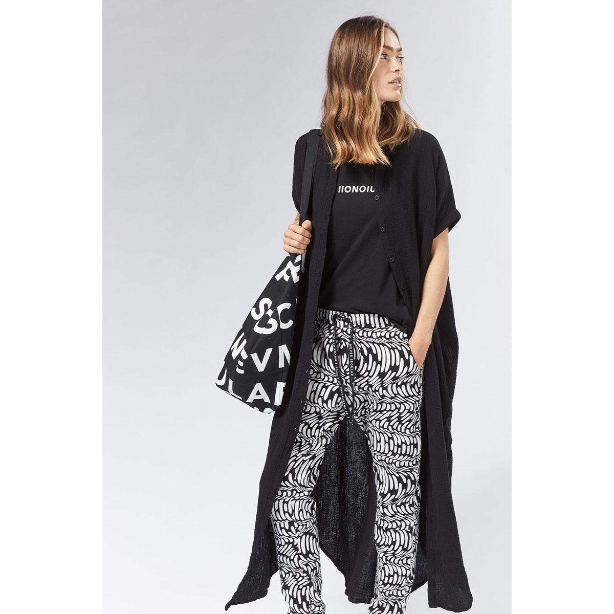 tee short sleeve 20 751 0201 10 days t-shirt black