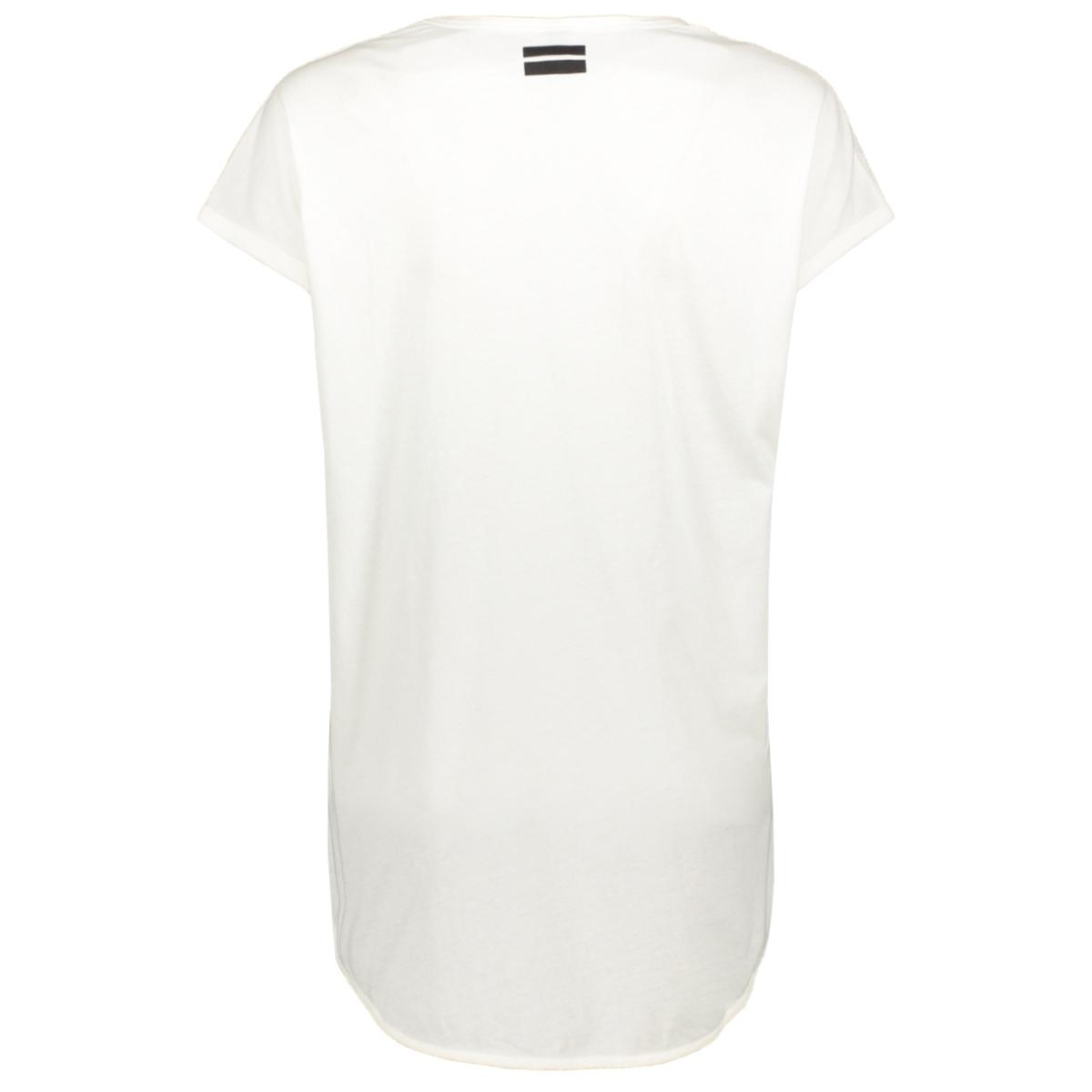 tee short sleeve 20 751 0201 10 days t-shirt ecru