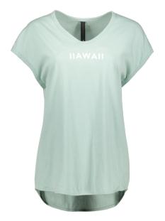 tee short sleeve 20 751 0201 10 days t-shirt blue surf