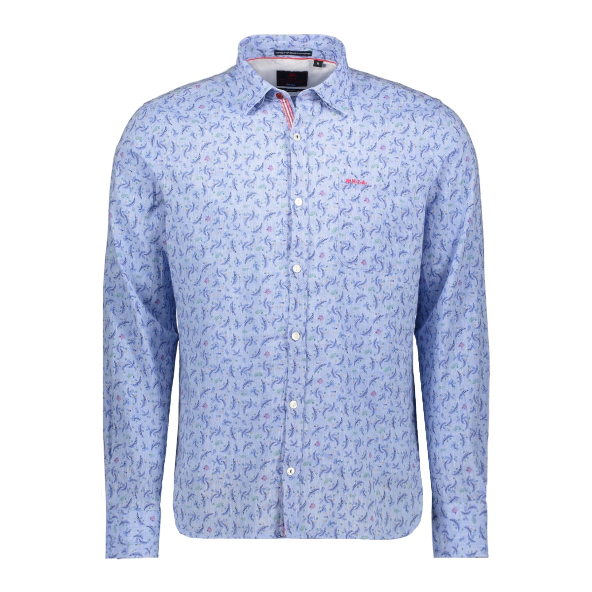mantle 20bn568 nza overhemd 259 fresh blue