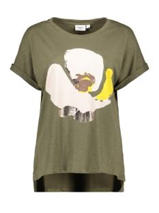 Saint Tropez T-shirt GITTESZ TEE 30510144 190515 ARMY GREN