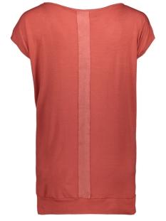 sandy leather look t shirt 201 zoso t-shirt desert red