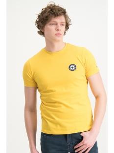Haze & Finn T-shirt TEE LOGO EMBRO MU13 0010 MELLOW YELLOW